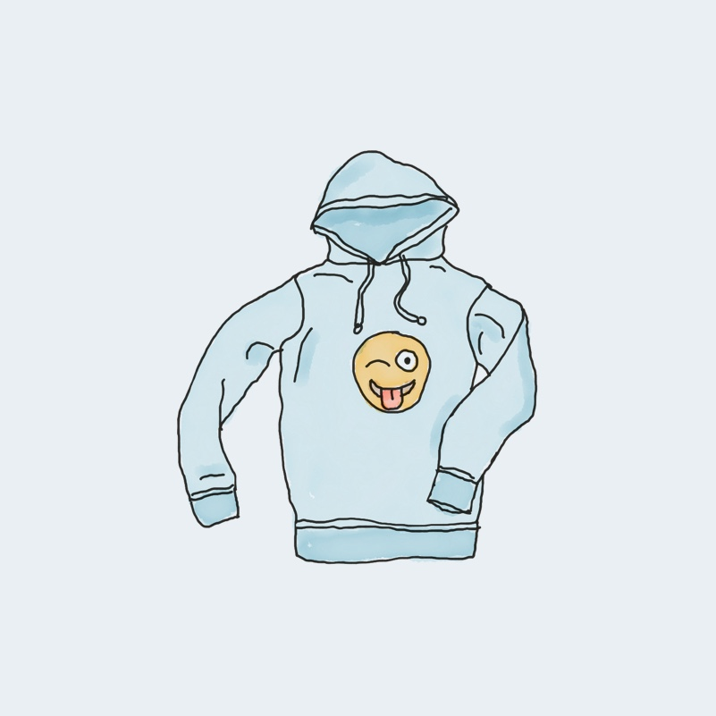 Hoodie with Logo virtual downloadable